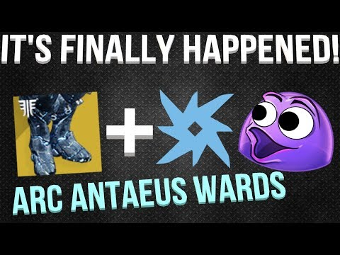 IT FINALLY HAPPENED! (I Got Arc Antaeus Wards) Destiny 2