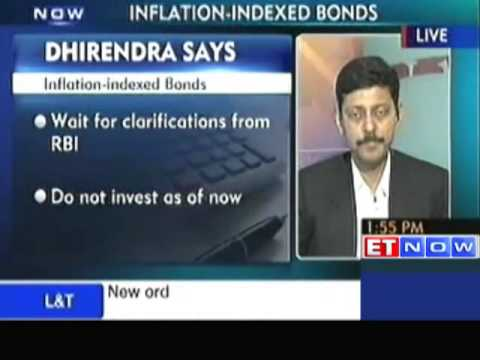 Dhirendra Shares His Views On Inflation Indexed Bonds