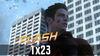 vuclip The Flash Season 1 Ending - The Flash tries to stop the singularity