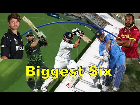 Top 15 Biggest Sixes Out of Stadium in Cricket History