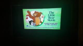 The Little Bear Movie Coming Soon VHS And DVD Teaser Trailer