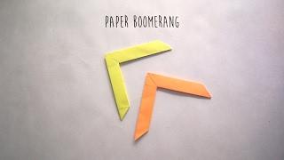 How to make Boomerang