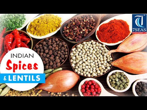 The Indian SPICES (Masala) & Lentils Names in English to Hindi, Marathi Oriya and Telugu (Part 1)