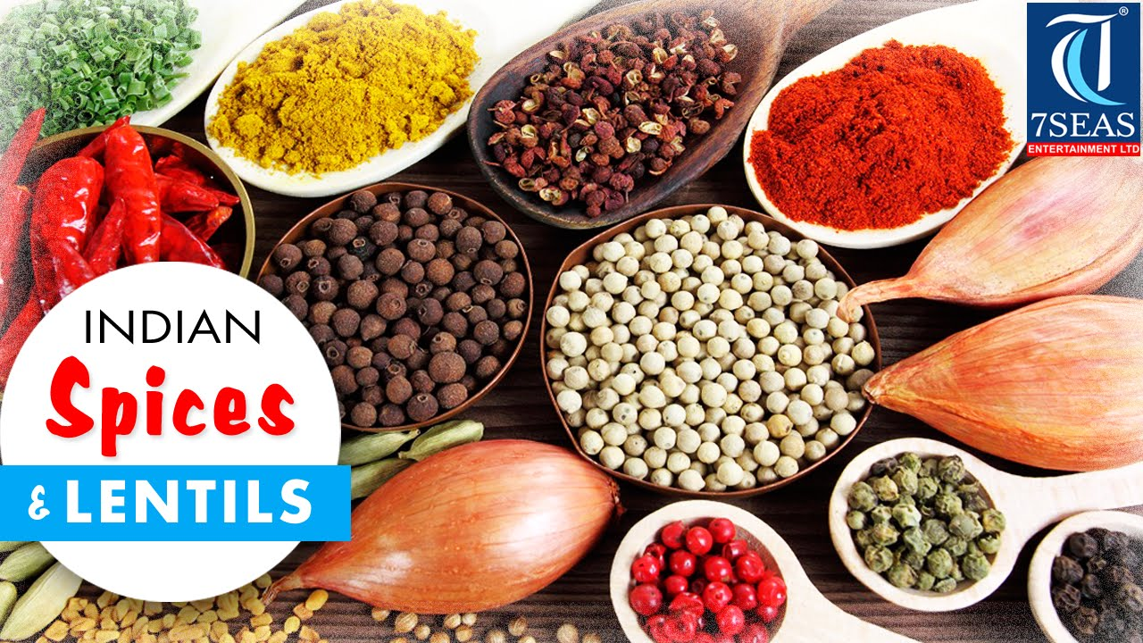 The Indian SPICES (Masala) & Lentils Names in English to Hindi, Marathi  Oriya and Telugu (Part 1)