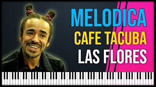 Como tocar: Las flores - Cafe Tacuba [ MELODICA ][ TUTORIAL ][ NOTAS ]