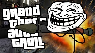 GRAND THEFT AUTO TROLL | Troll Face Quest: Video Games 2