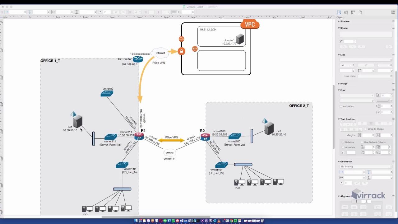 PFSense and AWS VGW IPsec Site to Site VPN