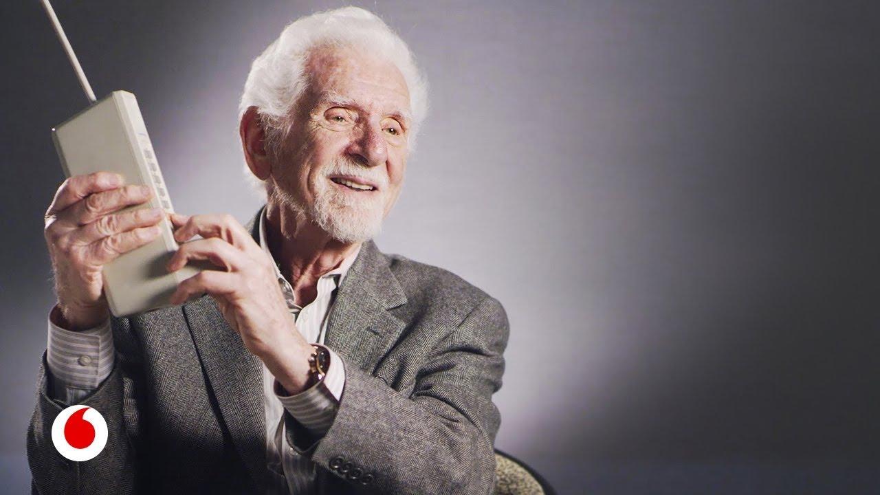 Marty Cooper, inventor del teléfono móvil