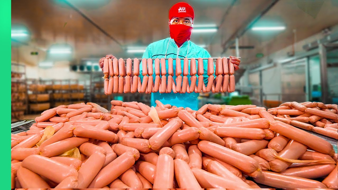 Vietnamese Sausage Factory!!! How the Sausage is REALLY Made!!