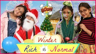 WINTERS - Rich vs Normal | Bloopers | #Fun #NewYear #Roleplay #Anaysa #MyMissAnand