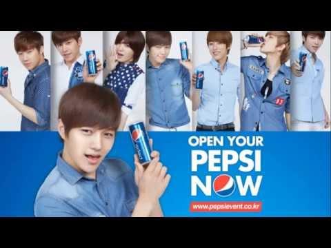 [MP3 + DL LINK] INFINITE - Open Your Pepsi Now CF