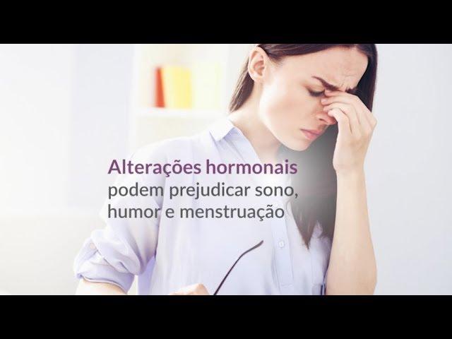 Consequência das alterações hormonais em mulheres