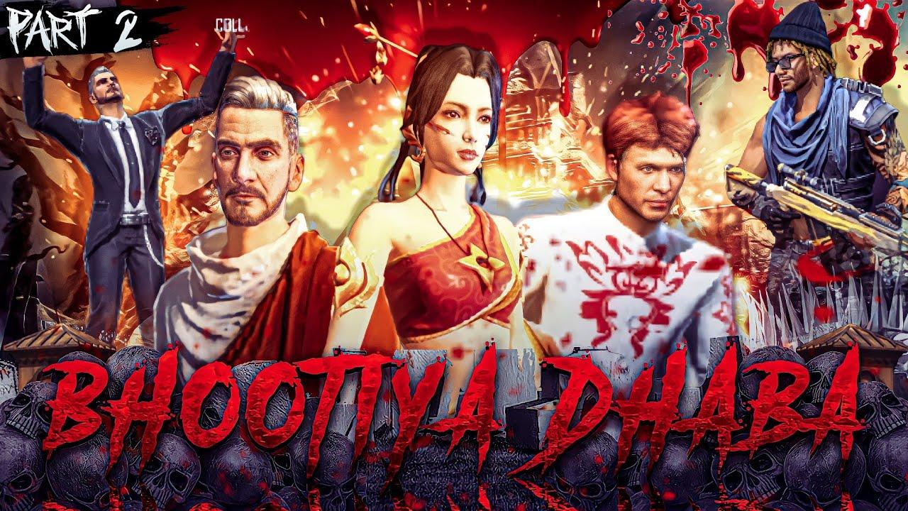 Bhootiya Dhaba ☠️ Part 2 [भूतिया ढाबा] Free Fire Horror Story in Hindi || Free Fire Story