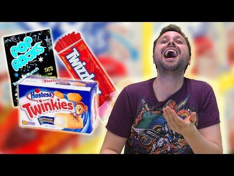 Brazilians Try American Sweets