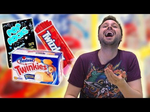 Brazilians Try American Sweets