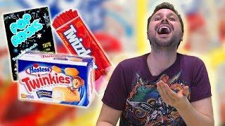 Baixar Brazilians Try American Sweets