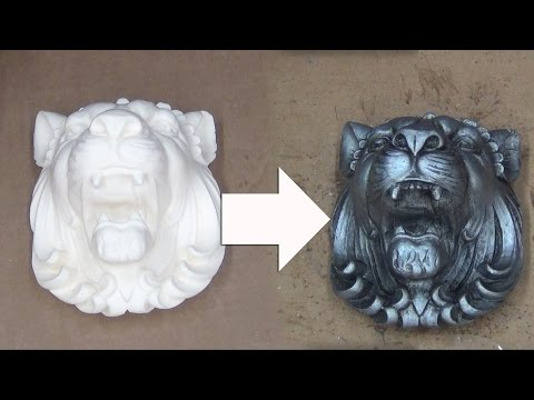 Resin Casting & Finishing Techniques: Antique Silver