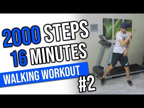 Walking Workout #2 | 2000 Steps in 16 Minutes | Keoni Tamayo