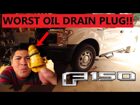 2018 Ford F-150 Oil Change | Over Engineered Oil Plug!?