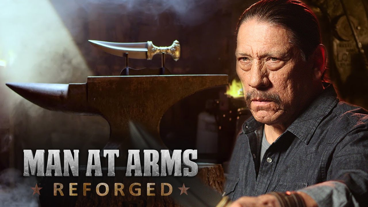 Jambiya Knife – Arabian Dagger from Battlefield 1 - MAN AT ARMS feat  Danny  Trejo