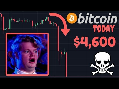 BITCOIN CRASHING BELOW $5,000!! | BTC Has NEVER Been This Oversold In RSI, Bounce IMMINENT??