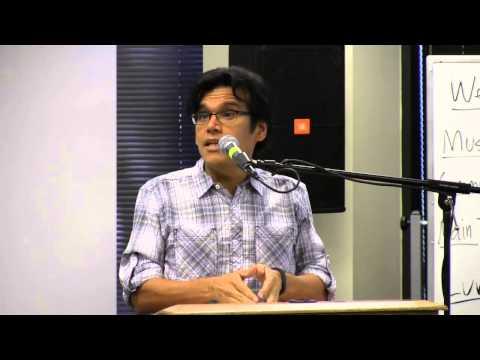 "Ernesto Aguilar, ""Better News Gathering and Media Diversity,"" Houston Oasis, Sep 21, 2014"