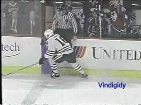 Savard goal on Roy 5/13/96 playoffs