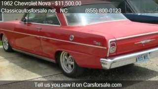 1962 Chevrolet Nova  for sale in Nationwide, NC 27603 at Cla #VNclassics
