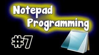 Notepad Programming Tutorial - Password Generator