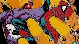 El épico enfrentamiento entre Thanos y Spider-Man