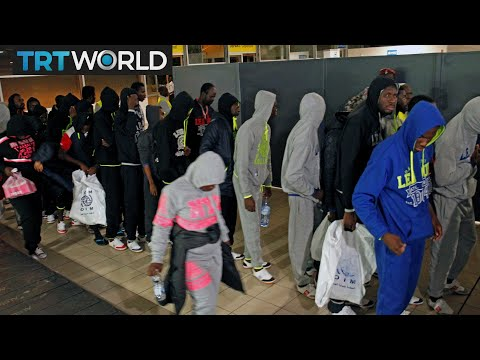 Libya Slave Trade: Migrants from Ivory Coast are being repatriated