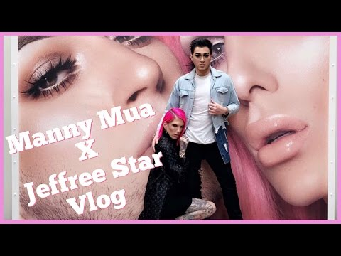 Thumbnail: TRAVELING THE WORLD WITH MY BEST FRIEND | Manny MUA x Jeffree Star Collab Vlog