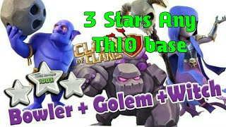 Clash of Clans Th10 war attacking Strategy 3 Stars Any base