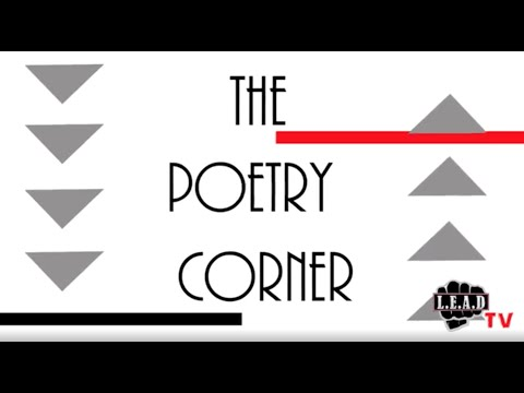 The Poetry Corner - Episode 6 (Arthur Beavers)