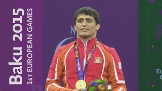 Rasul Chunayev defeats Balint Korpasi to win Gold | Wrestling | Baku 2015 European Games