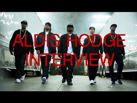 Straight Outta Compton's Aldis Hodge Interview with Edwin Hodge