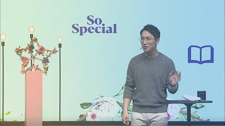 [서빙고 열린새신자예배] So Special - 어린이 주일 (마태복음11:25) 2021.05.02