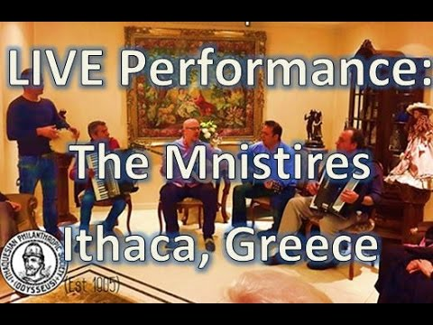 Live Mnistires band from Ithaca, Greece performing in South Africa - May 2015