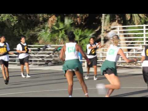 Netball Bermuda October 22 2011