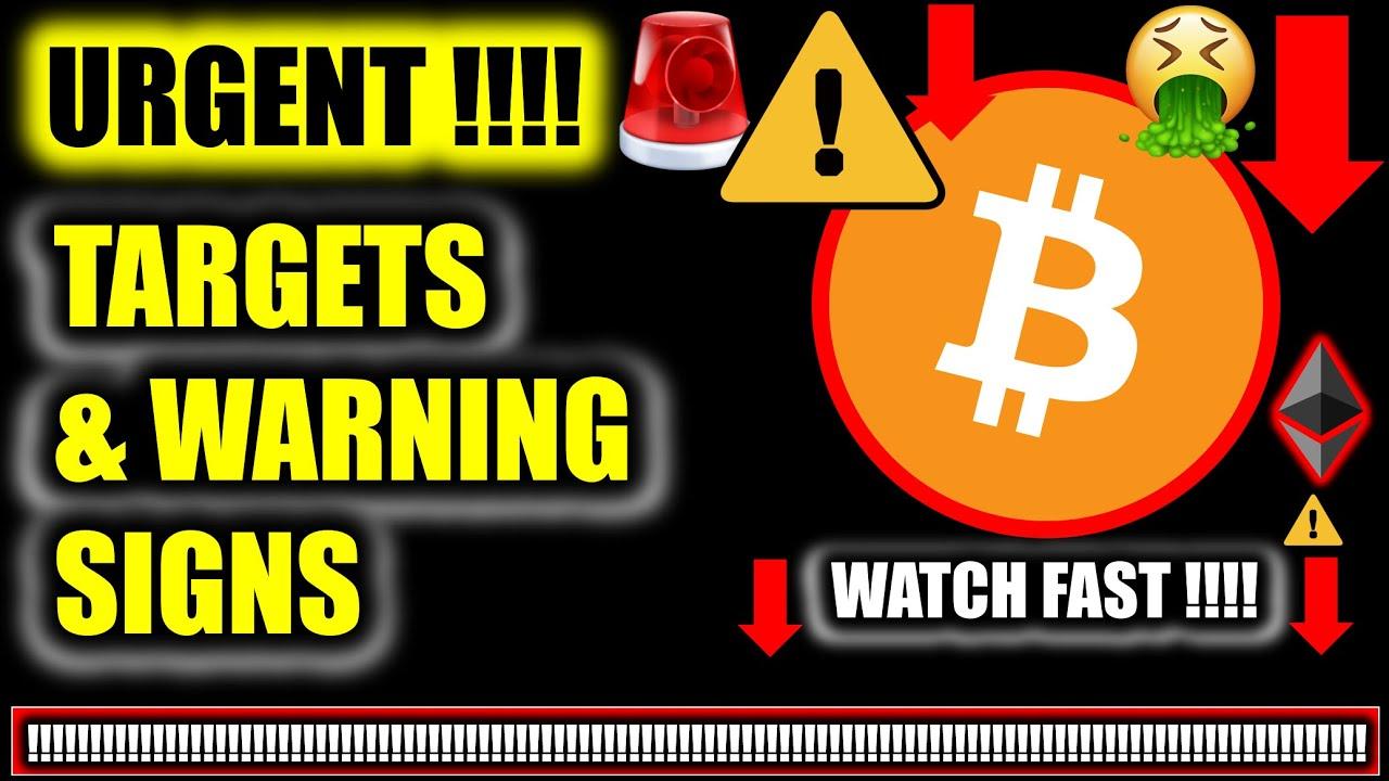 Download ⚠️ *URGENT!* MASSIVE BITCOIN PRICE UPDATE!!!! ⚠️ Crypto Analysis TA & BTC Cryptocurrency News Today