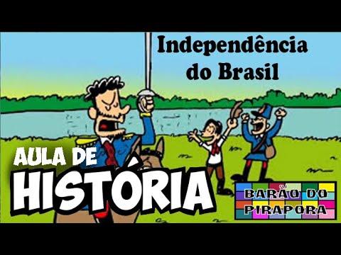 Aprendendo com Videoaulas: História: Independência do Brasil
