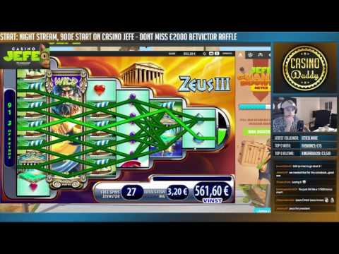 BONUS - Zeus 3 BIG WIN 3 Euro Bet Casino Huge Win