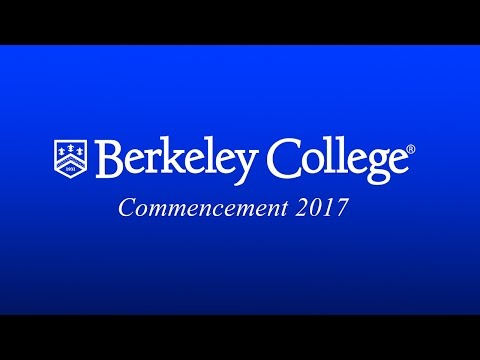 2017 Berkeley College Commencement