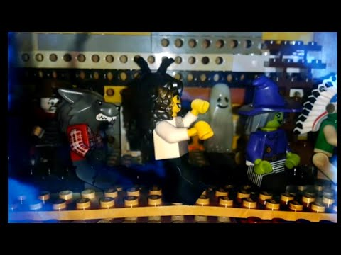 Lego Michael jackson - Ghosts (Lego version)