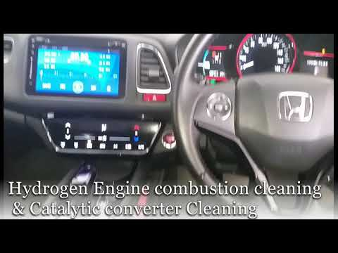 Motor Clean Hydrogen carbon cleaning & Catalytic converter cleaning Honda Vezel