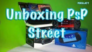 Unboxing PsP E1004 Street español