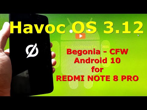 Havoc OS 3.12 Android 10 for Redmi Note 8 Pro Begonia - Custom ROM