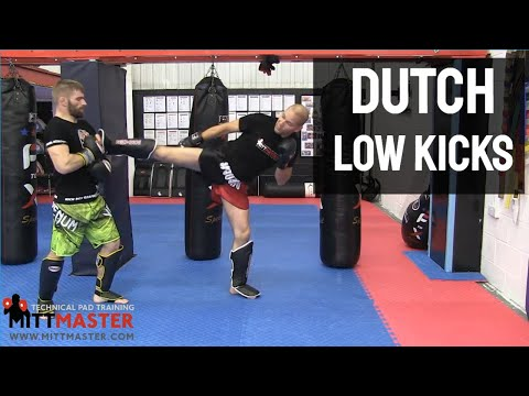 Dutch Muay Thai Low Kick Combos