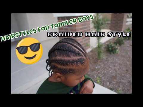 Hairstyles For Little Boys L Braiding Styles For Boys Youtube