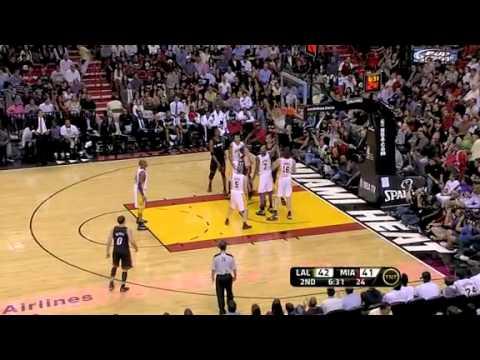 Nba Los Angeles Lakers Vs Miami Heat Game Recap 03 10 2011 Youtube